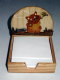 Wooden Notepad Holder 3 Styles Cat Sheep Cow